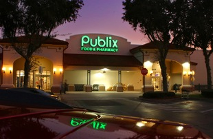 PUBLIX Shopping on property.